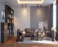 Thiết kế nội thất phòng khách nhà lô phố Dịch Vọng Hậu - Nội thất Jhome
