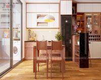Thiết kế nội thất phòng bếp chung cư I9 Thanh Xuân Bắc - Nội thất Jhome