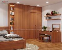Thiết kế nội thất phòng ngủ master chung cư I9 Thanh Xuân Bắc - Nội thất Jhome