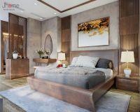Thiết kế nội thất phòng ngủ master căn penthouse phố Hoàng Ngân - Nội thất Jhome