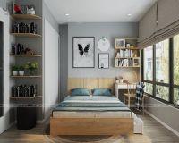 Thiết kế nội thất phòng ngủ con chung cư Vinhomes Mỹ Đình - Nội thất Jhome