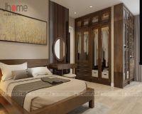 Thiết kế nội thất phòng ngủ master chung cư Thăng Long Number One - Nội thất Jhome