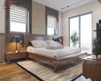 Thiết kế nội thất phòng ngủ chung cư Vinhomes - Nội thất Jhome