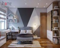 Thiết kế nội thất phòng ngủ con trai chung cư CT34T Hoàng Đạo Thúy - Nội thất Jhome