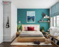 Thiết kế nội thất phòng ngủ con chung cư Ecopark nhà anh Phúc - Nội thất Jhome