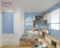 Thiết kế nội thất phòng ngủ con chung cư Victoria Văn Phú - Nội thất Jhome