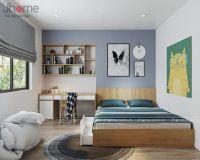 Thiết kế nội thất phòng ngủ bé trai chung cư Victoria Văn Phú - Nội thất Jhome