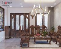 Thiết kế nội thất nhà liền kề Ecopark - Nội thất Jhome