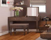 Các mẫu sản phẩm bàn trang điểm gỗ óc chó đẹp - Nội thất Jhome