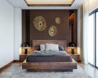 Thiết kế nội thất phòng ngủ master chung cư Ciputra - Nội thất Jhome