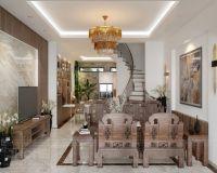 Thiết kế nội thất nhà biệt thự Vĩnh Yên - Vĩnh Phúc - Nội thất Jhome