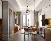 Thiết kế nội thất chung cư Thụy Khuê - Nội thất Jhome