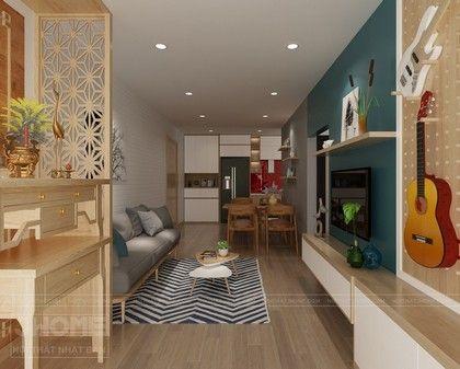 Thiết kế nội thất chung cư HUD3 - Nội thất Jhome