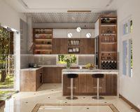 Thiết kế nội thất phòng bếp ở Việt Trì - Nội thất Jhome