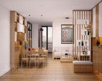 Thiết kế nội thất phòng khách chung cư Học viện Kỹ thuật Quân sự - Nội thất Jhome