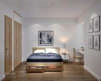 Thiết kế nội thất phòng ngủ chung cư Học viện Kỹ thuật Quân sự - Nội thất Jhome