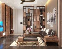 Thiết kế nội thất phòng khách chung cư 17T5 Hoàng Đạo Thúy - Nội thất Jhome
