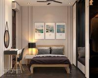 Thiết kế nội thất phòng ngủ con trai chung cư 17T5 Hoàng Đạo Thúy - Nội thất Jhome