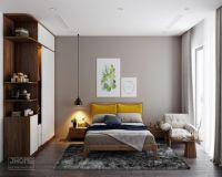 Thiết kế nội thất phòng ngủ chung cư Thụy Khuê - Nội thất Jhome