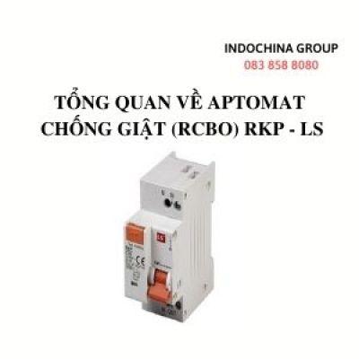 TỔNG QUAN VỀ APTOMAT CHỐNG GIẬT (RCBO) RKP - LS