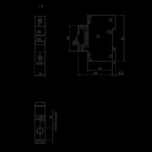 MCB PANASONIC DIN BD- 63- 1P