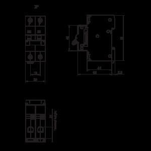 MCB BD-63-2P 2P 63A BBD2632CNV