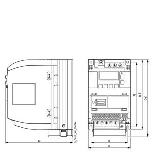 BIẾN TẦN V20 380V 11KW 6SL3210-5BE31-1UV0
