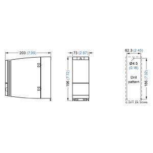 SINAMICS G120C 380-480VAC 3PHA 0.75KW BỘ LỌC A PROFIBUS-DP