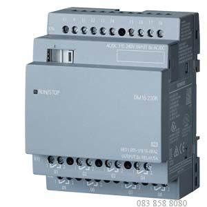 MODULE MỞ RỘNG LOGO! DM16 24 PS/I/O: 24VDC/24VDC/TRANS, 8DI/8DO