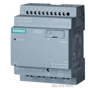 LOGO! 12/24RCEO LOGIC MODULE WITHOUT DISPLAY PS/I/O: 12/ 24VDC/ RELAY, 8DI (4AI)/ 4DO