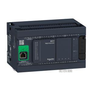 PLC MODICON M241-24IO RELAY ETHERNET CAN MASTER 100- 240VAC