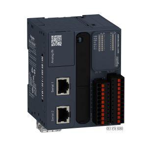 PLC MODICON M221-16IO RELAY SPRING MODULAR 100-240VAC