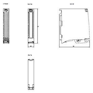 6ES7522-1BH10-0AA0 - DIGITAL OUTPUT MODULE DQ16x24 V DC/0.5A