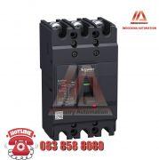 MCCB TYPE F 3P 100A EZC250F3100