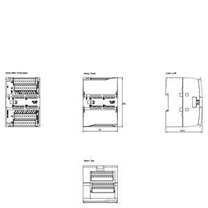 MODULE I/O 16DI/ 16DO 6ES7223-1PL32-0XB0