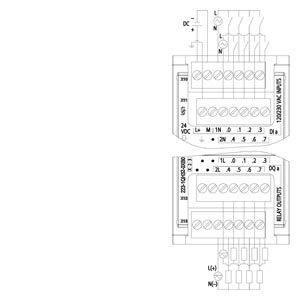 MODULE I/O 8DI/ 8DO 6ES7223-1QH32-0XB0
