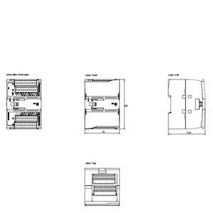 MODULE AI 8AI RISISTOR RTD 6ES7231-5PF32-0XB0