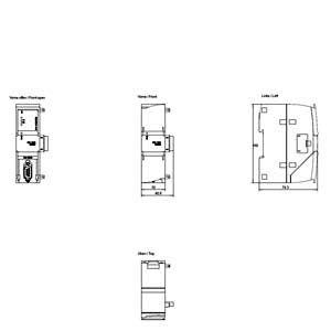 MODULE CM 1241 RS232 6ES7241-1AH32-0XB0