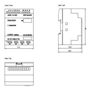 LOGO! 230RCO 230V/RELAY  6ED1052-2FB00-0BA6
