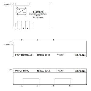 MODULE NGUỒN PM1207 6EP1332-1SH71