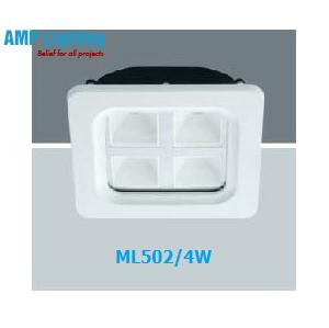 Đèn Downlight âm trần vuông LED 4W