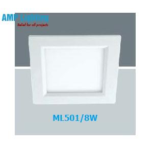 Đèn Downlight âm trần vuông LED 8W ML501/8W