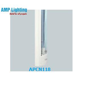 Máng đèn có chụp MICA 1x18W APCN118