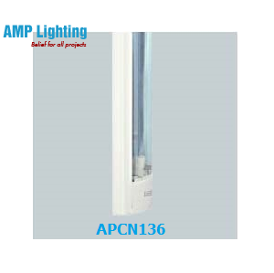 Máng đèn có chụp MICA 1x36W APCN136