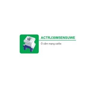 Ổ CẮM MẠNG CAT5E ACTRJ30M5ENSUWE - SERIES S-CLASSIC