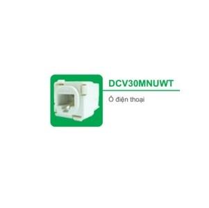 Ổ ĐIỆN THOẠI DCV30MNUWT