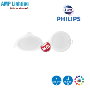 Đèn LED âm trần 59260 ERIDANI 080 3W PHILIPS