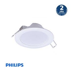 Đèn LED âm trần DN020B 6W LED6 D90 PHILIPS