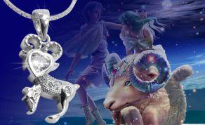 Mặt dây cung Hoàng đạo - Xu hướng trang sức Bạc lên ngôi