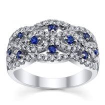 Nhẫn kim cương MS03